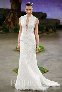 Brides.com: . Wedding dress by Ines Di Santo