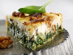 Découvrez la recette Quiche aux épinards sur cuisineactuelle.fr.