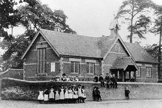 St. Mary's School, Staffordshire in the 19th Century - children learned the 3-R's - reading, 'riting, and 'rithmatic!