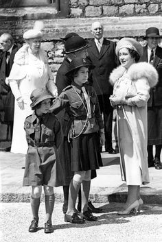This year, Queen Elizabeth II, Britain's longest-reigning monarch turned To celebrate, take a look back at 94 of her best fashion moments through the years. Young Queen Elizabeth, Lady Elizabeth, Princess Elizabeth, Princess Margaret, Margaret Rose, English Royal Family, British Royal Families, Queen Mother, Queen Mary