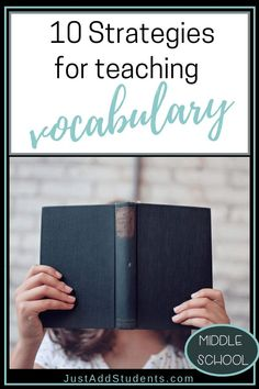 Looking for new strategies for teaching vocabulary? Here are tips for making vocabulary instruction meaningful, fun, and effective. Vocabulary Strategies, Vocabulary Instruction, Teaching Vocabulary, Teaching Strategies, Teaching Writing, Vocabulary Words, Teaching Tips, Teaching Kindness, Academic Vocabulary