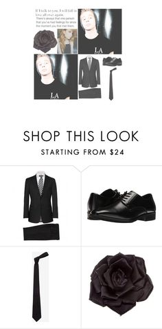 """""""& — Brookfield Asylum — &"""" by heathxns ❤ liked on Polyvore featuring beauty, BOSS Black, Stacy Adams, Alexander McQueen and Johnny Loves Rosie"""