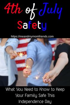 of July can be a great time of celebration in the United States. However, its very important to keep your family safe. Here are some tips to help you have a great and safe holiday! Parenting Toddlers, Parenting Hacks, Independence Day Activities, Becoming Mom, Patriotic Party, Safety Tips, Family Kids, Mom Blogs, Fourth Of July