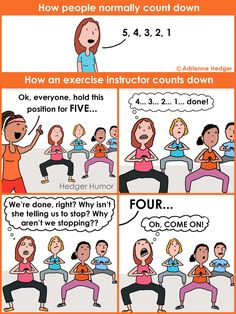 Time warp in exercise class
