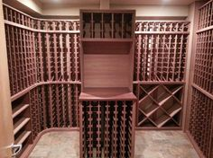 Our custom mahogany wine racks freshly installed in Wagner's Vineyard in NY.  We at WineRacks.com are proud to offer free custom design and white glove install. Visit our website for more information!