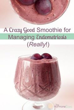 A Crazy Good Smoothie For Managing Endometriosis (Really!) The Hormone Diva Dieta Endometriosis, Endometriosis Awareness, Pcos, Endometriosis Tattoo, Healthy Drinks, Get Healthy, Healthy Life, Healthy Eating, Detox Drinks
