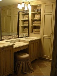 "Custom Bathroom Vanities Pittsburgh the vanity is painted with ""dogwood blossom""ppg pittsburgh"