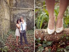 An Engagement Session at an Irish Castle | Green Wedding Shoes Wedding Blog | Wedding Trends for Stylish + Creative Brides