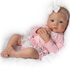 Granddaughter, I Love You Head To Toe So Truly Real Lifelike Baby Doll - Realistic Baby Dolls