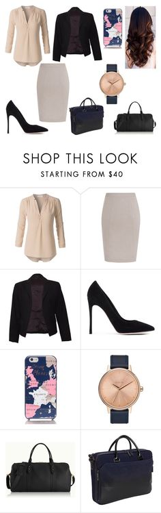 """""""Untitled #171"""" by kora-muffin on Polyvore featuring Theory, Gianvito Rossi, Kate Spade, Nixon, GiGi New York and Vince Camuto"""