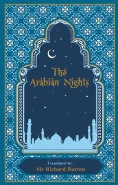 The Arabian Nights by Richard Burton bound in leather