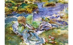 John Singer Sargent Watercolour exhibition comes to Dulwich Picture Gallery London in 2017