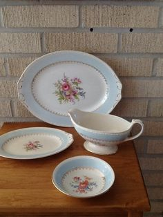 Homer Laughlin Eggshell Georgian Chateau Blue - My grandmother's dish pattern - I'm lucky enough to have now!  Love them!
