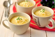 Traditional Mexican Foods - Cheese Soup From Oaxaca