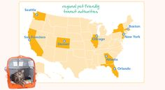 8 Regional Transit Systems Where You Can Travel With Your Pet #infographic