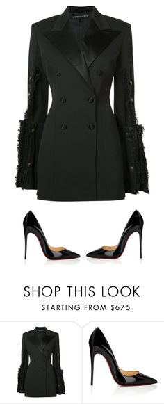 """""""Untitled #215"""" by klayvic ❤ liked on Polyvore featuring Y/Project and Christian Louboutin"""