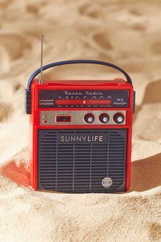 $35 Sunnylife Retro Sounds Radio Speaker