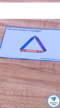 Your children can use this free set of task cards to explore shapes. This free set of STEM cards is Shape Activities Kindergarten, Preschool Centers, Toddler Learning Activities, Preschool Science, Preschool Lessons, Preschool Classroom, In Kindergarten, Preschool Activities, Shape Activities For Preschoolers