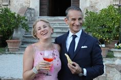 Getting Married in Italy | @romewise GERRRR THE DREADED DISGUSTING ORANGE DRINK THEY ALL DRINK!!!! YUCK!!!!