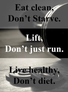 Eat clean, lift, live healthy- Simple but powerful weight loss motivation tip! Start your weight loss journey at www.TheShapeWithin.com
