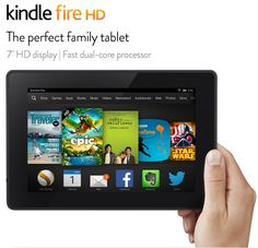 Buy Amazon Kindle Fire HD Online -   If you're looking for a good tablet at reasonable price, Amazon Kindle Fire HD is one good gadget worth considering. Gift a kindle to your beloved one on this festival.