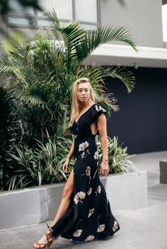 Fame And Partners Jo Hombsch in the Azzedine dress by Fame & Partners