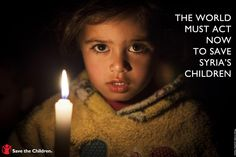 For two years, Syria's children have endured appalling suffering.  The plight of children is the hidden outrage of this conflict.    Young lives torn apart…bereaved, brutalized, tormented, lost.    On March 14, 2013 – the eve of the second anniversary of the outbreak of the conflict – we want to mobilize people worldwide to demand action.    Please join us and use your voice to support the children of Syria: http://thndr.it/13G8pvY