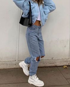 club Wood Working Mode Site - My Life ceaft Pinliy Aesthetic Fashion, Aesthetic Clothes, Look Fashion, 90s Fashion, Fashion Outfits, Fashion Ideas, Fashion Clothes, Fashion Women, Winter Fashion