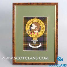 Muir Clan Crest Moun