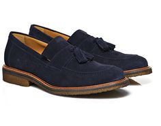 fdda7f9c4ab #Shoes #Bluesuedeshoes #Tasselloafers #suitsupply #loafers #suede Suit  Supply, Tassel