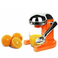 Citrus Juicer Orange now featured on Metrokane  The Bar Necessities Of Life.