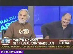 Cheech & Chong Debate On Fox News About Marijuana Cheech And Chong, Cannabis, Health And Wellness, Smoking, Interview, Fox, Mary, Education, Live