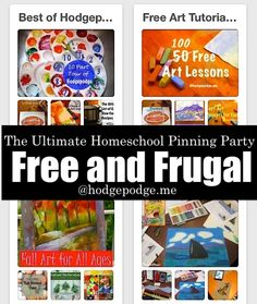 Free and Frugal at The Ultimate Homeschool Pinning Party