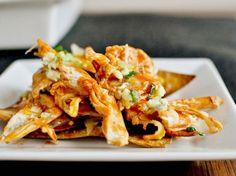 Layered Baked Buffalo Chicken Nachos | Tasty Kitchen: A Happy Recipe Community!