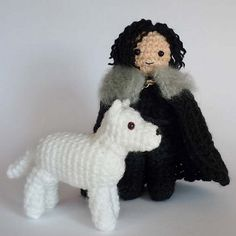 Game of Thrones Stark crochet amigurumi pattern
