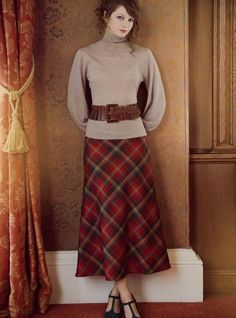 Bias Cut Skirt Special Order - Contemporary Tartan Skirts - Tartan Skirts & Kilted Skirts - Womens Clothing - Womens | Kinloch Anderson