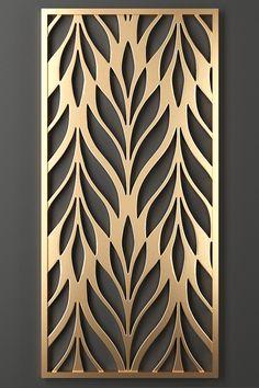 Laser Cut Panels, Laser Cut Metal, Laser Cut Screens, Living Room Partition Design, Room Partition Designs, Metal Gates, Metal Screen, Gate Design, Wood Design