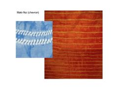 Maki Chevron = from whip stitch pleats