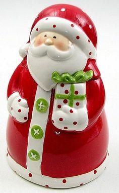 Santa Cookie Jar-049-91559