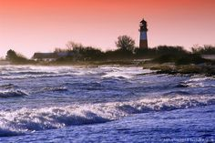 Lighthouse in Schleswig-Holstein, Germany