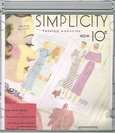 CD Picture Pack  Simplicity Summer 1930s Catalog Searchable Database Pattern #  | eBay