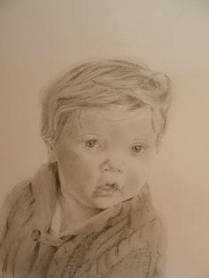 Teresa's grandson (pencil on paper)