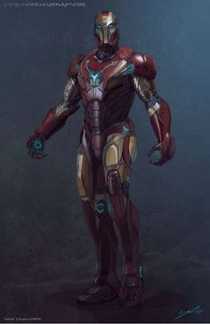 Futuristic Redesign Superhero Renderings - Yanni Davros Paints Comic Powerhouses Decades From Now (GALLERY)