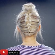 Another hair video up on my channel (Milabu) now : 10 Faux Braided Short Hair Tutorials - here is the Reverse Faux Braided With a Bun to top it off. Music @jonarekulsveen • • • @styleartists @hairs @hair.videos @hair.artistry @hair.video @hairspost.s  #milabu09 #ghdhair #hairgoals #hairtips #effortless #DIY #braid #sarahhyland #inspired #beautyundressed #hair_videos #hair_artistry #hair_videos #hairpost #hair #fashionarttut #instahair #tutorial #hairtutorial #hairstyle #shorthair #video