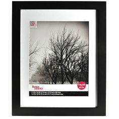 Better Homes And Gardens Wide Picture Frame Black Set Of 2 8x10