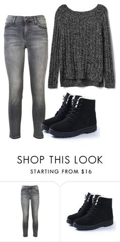 """Untitled #744"" by vaniadenisse16 ❤ liked on Polyvore featuring Current/Elliott and Gap"