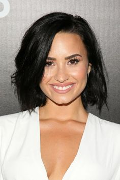 Demi Lovato's beauty, hair, and makeup looks over the years: August 2015