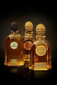 3 Jean Patou perfumes: Le sien, Adieu Sagesse, Amour Amour,