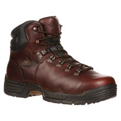Men's Rocky MobiLite Steel Toe Boots - Brown 13M, Size: 13