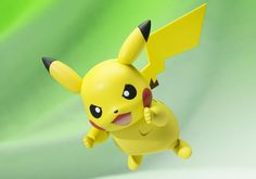 Figuarts Pocket Monsters: Pikachu * Non Scale Pre-Painted Figure * Material: PVC and ABS * Height: approx. Pikachu, Pokemon Go, Donald Trump Tweets, Online Games, Video Game, Action Figures, Anime, Toys, Cute